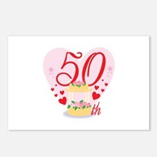 50th Celebration Postcards (Package of 8)