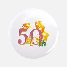 "50th Celebration 3.5"" Button"
