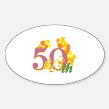 50th Celebration Decal