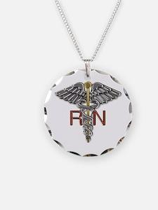 RN Medical Symbol Necklace