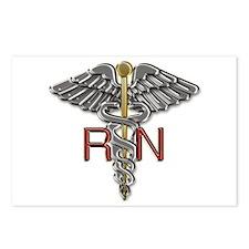 RN Medical Symbol Postcards (Package of 8)