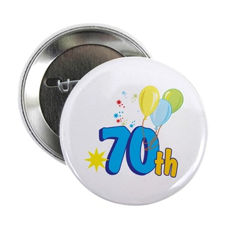 "70th Celebration 2.25"" Button (10 pack)"