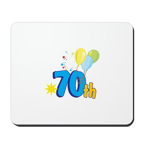 70th Celebration Mousepad