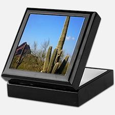 Saguaro cactus Keepsake Box