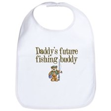 Daddy's Future Fishing Buddy Bib