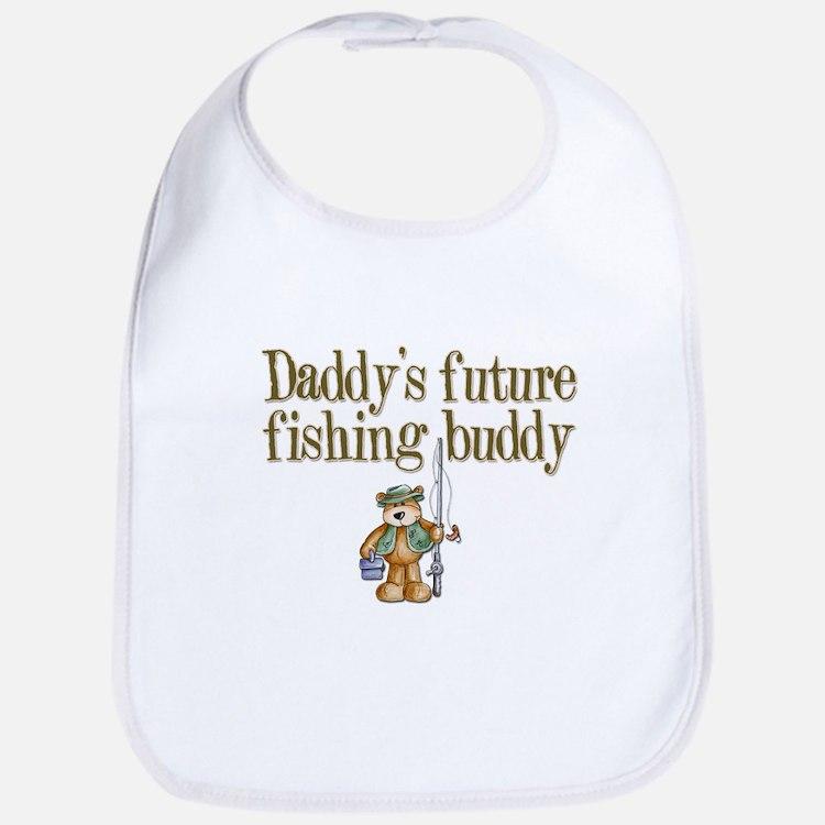 Daddy's Future Fishing Buddy Bib