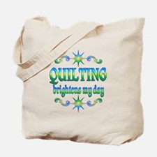Quilting Brightens Tote Bag