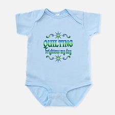 Quilting Brightens Infant Bodysuit