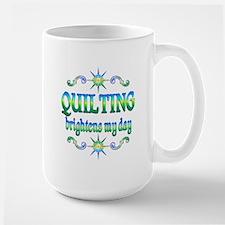 Quilting Brightens Mug