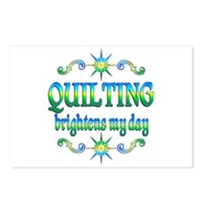Quilting Brightens Postcards (Package of 8)