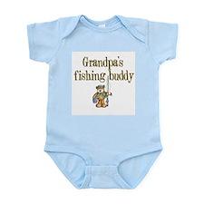 Grandpa's Fishing Buddy Infant Creeper