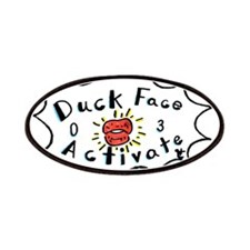Duck Face Activate! Patches