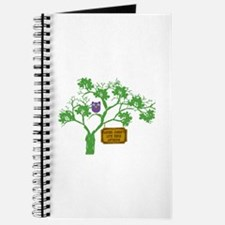 Cancer Doesn't Live Tree Owl Journal