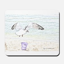 Sea Gull Sketch Mousepad