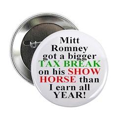Mitt Romney Dressage Horse Tax Cut Magnet