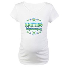Knitting Brightens Shirt
