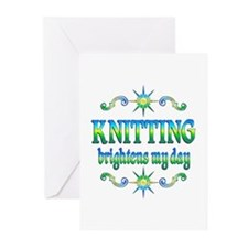Knitting Brightens Greeting Cards (Pk of 20)