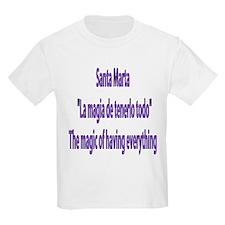 Santa Marta Frases Colombianas Kids T-Shirt
