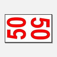 50 Autocross Number Plates Car Magnet 20 x 12