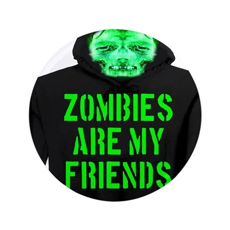 """Zombies Are My Friends 3.5"""" Button (100 pack)"""