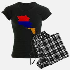 Armenia Flag and Map Pajamas