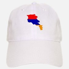 Armenia Flag and Map Baseball Baseball Cap