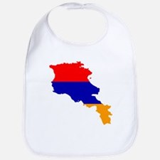Armenia Flag and Map Bib