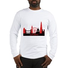 London landmarks tee 3cp.png Long Sleeve T-Shirt