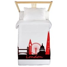 London landmarks tee 3cp.png Twin Duvet