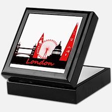 London landmarks tee 3cp.png Keepsake Box