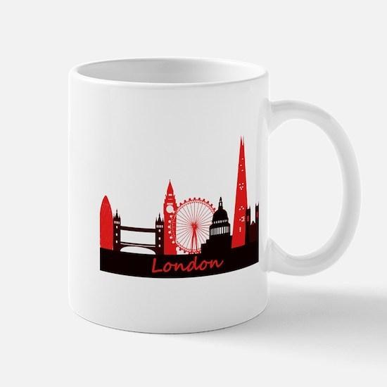 London landmarks tee 3cp.png Mug