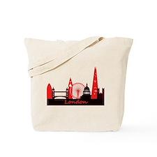 London landmarks tee 3cp.png Tote Bag