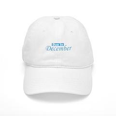 Due In December - blue Baseball Cap