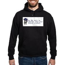 Pit Bull is smarter Hoodie