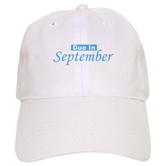 Due In September - Blue Baseball Cap