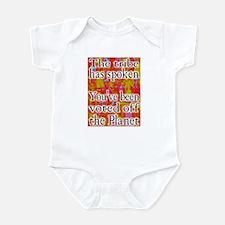 Tribe has Spoken Funny Survivor Infant Bodysuit