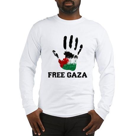 Free Gaza Long Sleeve T-Shirt