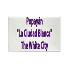 Popayán frases colombianas Rectangle Magnet