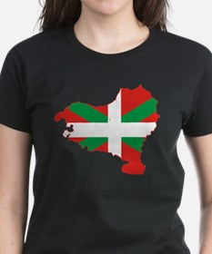 Basque Community Flag and Map Tee