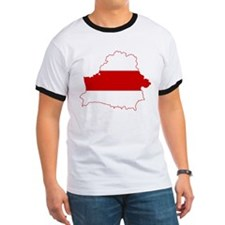Belarus Flag and Map T