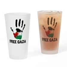 Cute Palestine Drinking Glass