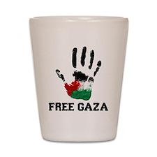 Unique Palestine Shot Glass