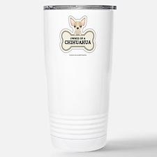 Owned by a Chihuahua Travel Mug