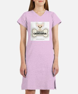 Owned by a Chihuahua Women's Nightshirt