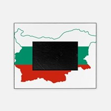 Bulgaria Flag and Map Picture Frame
