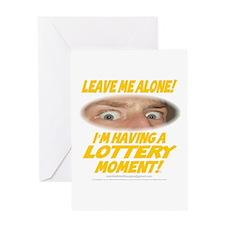 LeaveMeAloneLottery0002 Greeting Card