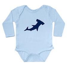 Hammerhead Sharks/Jaws Long Sleeve Infant Bodysuit