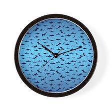 Sharks/Jaws Wall Clock
