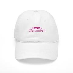 Due In December - Pink Baseball Cap