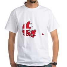 Flag Map of Denmark Shirt